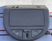04 To 09 Nissan Armada Titan Qx56 Roof Console Overhead Map Light Dome Storage