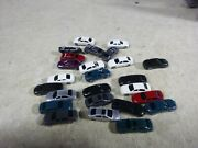 24 N Scale Vehicles/ Lot Of 25 Cars