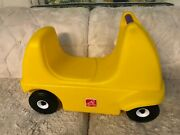 Step 2 Step2 Roller Coaster Yellow Ride On Replacement Car Kids Riding Toy