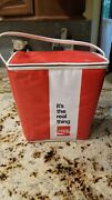 Intage 1970s Soft Sided Coca Cola Cooler Coke