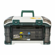 Plano Outdoor Sports Angled Fishing Tackle Box Storage System Green