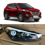 Led Drl Headlight Replacement For 2016 2017 2018 Hyundai Tucson Right Passenger