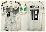 Jersey Germany World Cup 2018 18 Kimmich - Autographed By All The Players