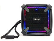 Ihome Weather Tough Portable Rechargeable Bluetooth Speaker W/speakerphone And L