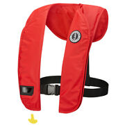 Mustang Mit 100 Inflatable Manual Pfd - Red Md2014/03-04