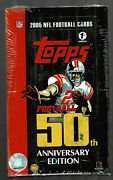 2005 Topps Football Factory Sealed First Edition Hobby Box Possible Rodgers Rc