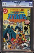 New Teen Titans 2 Cgc 9.8 White Dc 1980 1st Appearance Deathstroke