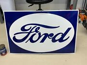 Ford Large, Heavy Porcelain Sign 39x 25 Near Mint, Very Nice Sign
