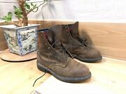 Red Wing 1210 Mens Sz 8.5 Work Boots 400 Grams Thinsulate E3
