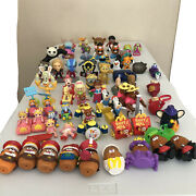 Huge Lot Of Mcdonald's Happy Meal Burger King And Misc Toys 1980s-2000s