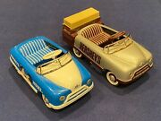 Two Vintage Hershey's 1948 Bmc Pedal Cars - Limited Edition - 115 And 717 Of 1250