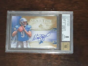2009 Matthew Stafford Sign Of The Times Gold Bgs 8 Auto 10 18/25