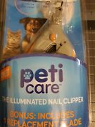 Led Light Pet Nail Clipper- Cats And Dogs. Openbox-new Msrp 20