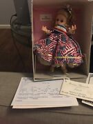Wendy Salutes The Olympians 1996 Madame Alexander Crown Tag Box Coa