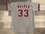 1993 Game Worn / Issued Larry Walker Montreal Expos Mlb Grey Baseball Jersey 48