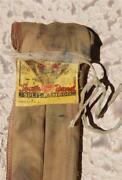 Vintage South Bend Split Bamboo 8 1/2' Fly Rod And Sock 77 Fishing Pole 1940's