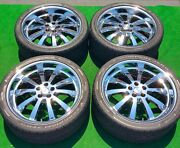 Redbourne Chrome 22 Inch Wheels Tires For Oem Factory Range Rover Set Of Four 4