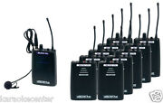 Vocopro Silentpa-tour10 Uhf In Ear Monitor Wireless Audio Broadcast System