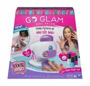 Cool Maker, Go Glam Nail Stamper Salon For Manicures And Pedicures With 5 Pat...
