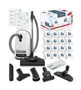 Miele Complete C3 Cat And Dog Canister Hepa Canister Vacuum Cleaner With Seb2...