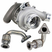 For Ford F350 F450 F550 Super Duty 6.7l Powerstroke Turbo W/ Charge Pipe Kit Csw