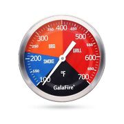 Galafire 3 3/16 Inch Bbq Temperature Gauge For Smoker Wood Charcoal Pit Larg...