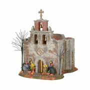 Department 56 Snow Village Halloween Day Of The Dead Church Lit Building 10....