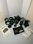 Canon Eos D30 3.2mp Digital Slr Camera With Accessories, 2 Flashes And 2 Lenses