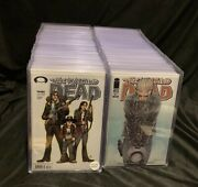 The Walking Dead Comic Book Collection - 131 Issues - 1st Prints - Bag And Board