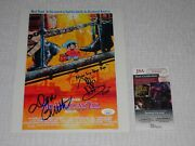 An American Tail Cast Signed X2 Autographed 8.5x11 Photo Don Bluth Glasser Jsa