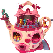 My Little Pony Teapot House Play Set Accessories Ponies Hasbro 2006 Sound Mlp