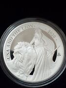 2020 Una And The Lion 1oz Silver Proof Coin St. Helena Great Britain W/ Box Coa