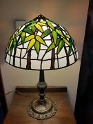 Style Handmade By Seller Bamboo Stained Glass Lamp Shade