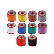 Bntechgo 12 Gauge Silicone Wire Kit 10 Color Each 25 Ft Flexible 12 Awg Stran...