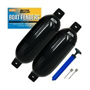 2 Pk Boat Fenders Bumpers For Dock With Pump Boat Accessories Fender Bumper S...