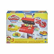 Play-doh Kitchen Creations Grill And039n Stamp Playset For Kids 3 Years And Up Wit...