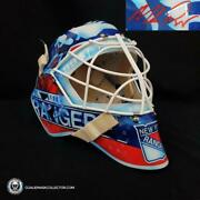 Mike Richter Signed Goalie Mask Autographed New York Legacy Signature Edition