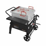 Creole Feast Cfb1001a 90 Qt. Crawfish Seafood Boiler Single Sack Outdoor Sto...
