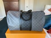 Louis Vuitton Bandouliere Keepall 50. Monogram Reverse Eclipse. New With Tags.andnbsp