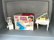 Sears Barbie Musical Piano Plays Music Doll Rocks Back And Forth Vintage 70s Tomy