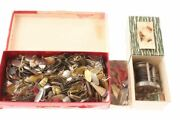 Vintage Pflueger Skilfast Reel And Box Lures And 100s Of Lure Spinner Blades
