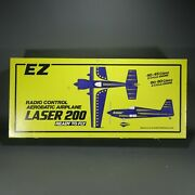 Ez Laser 200 56 Wingspan Rc Kit Ready To Fly Airplane 80and039s New Old Stock