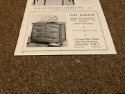 Ant1 Antiques Advert 5x9 Ian Askew - 18th Century French Provisional Commode