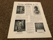 Aabk12 Antiques Advert 11x8 Messrs Sotheby And Co Auctions New Bond Street