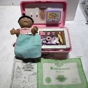 Cabbage Patch Kid Love N Go Nursery Playset With Doll Vintage 1995 Girl Toys