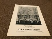 Aabk14 Antiques Advert 11x9 Thornton Smith Queen Anne Panelling