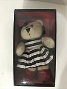 Starbucks Holiday Barista Bear Plush W/pearls Stacey Bendet 2013 W/tag Boxed
