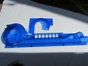 Williams Taxi Pinball Spinout Ramp With Ball Retainer  New Blue Custom Look