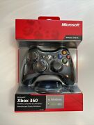 Sealed Microsoft Xbox 360 Wireless Controller For Windows Includes Receiver