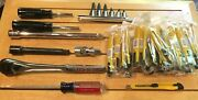 Lot Of Ass't Craftsman Tools W/30 Box Cutters. As Pictured. You Get What You See
